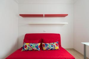 Postel nebo postele na pokoji v ubytování Apartamento Anfora