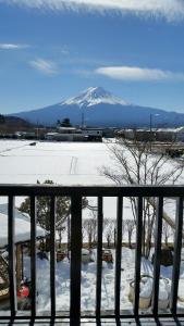 Ururun Kawaguchiko during the winter