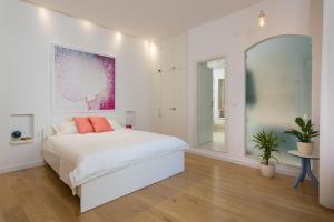 Postel nebo postele na pokoji v ubytování That place studio apartment