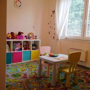 Dětský klub v ubytování Dedinky Lakeview Cottage