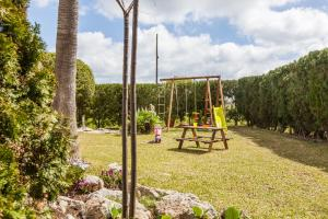 Children's play area at Can Garú