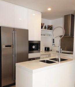 Küche/Küchenzeile in der Unterkunft Condominium The Sanctuary of Truth