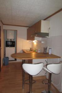 Cuisine ou kitchenette dans l'établissement Studio Rue De La Cathédrale