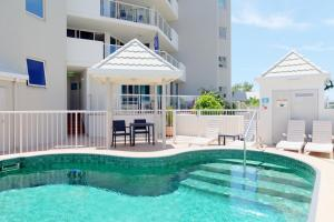 The swimming pool at or near Sandcastles Mooloolaba