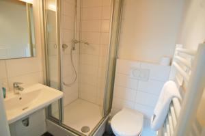 Ein Badezimmer in der Unterkunft Seeträume Reichenau