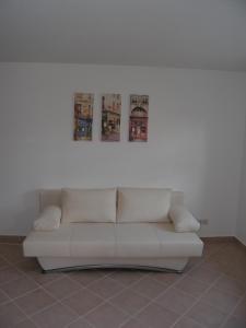 A seating area at Ferienwohnung Stettfeld