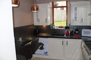 A kitchen or kitchenette at Baronial Style Luxury House