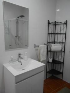 A bathroom at Studio Bibi