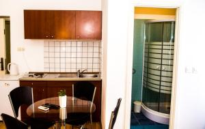 A kitchen or kitchenette at Apartments Branimir