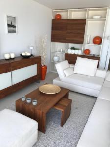 A bathroom at De Haan - Apartment Silverbeach