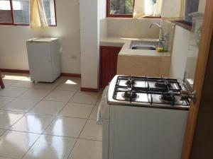 A kitchen or kitchenette at Patty Hospedaje
