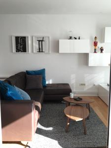 A seating area at K Residence Zadar apartment