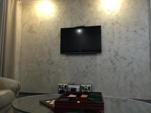 A television and/or entertainment center at Leningradskaya 21A
