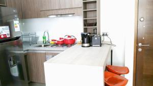 Una cocina o zona de cocina en Apart Suites
