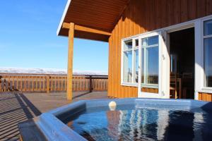 The swimming pool at or near Rubin Holiday House Hreidur