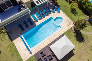 A view of the pool at Villa Popa or nearby