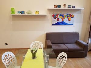 A seating area at La Casa Di Maryna