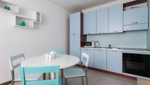 A kitchen or kitchenette at Italianway-Corso Como 5