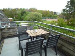 Balcon ou terrasse dans l'établissement KAAP 44