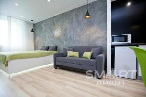 A seating area at Smart Apart at Artek
