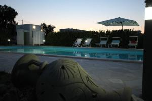 The swimming pool at or near Apulia Bianca