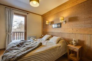 Un ou plusieurs lits dans un hébergement de l'établissement CGH Résidences & Spas Le Ruitor