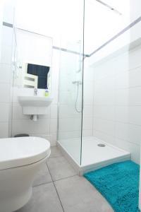 Vonios kambarys apgyvendinimo įstaigoje Krakow Townhouse