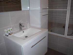 Een badkamer bij Apartments Iris
