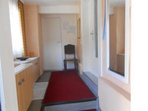 Ein Sitzbereich in der Unterkunft Ferienhaus Anna