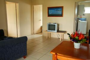A television and/or entertainment center at Coral Reef Apartments