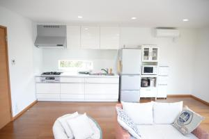 A kitchen or kitchenette at Vacation Rental Nicotto