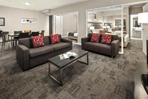A seating area at Quest Campbelltown