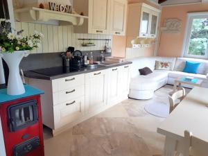 Kuhinja ili čajna kuhinja u objektu Holiday Home Slavi