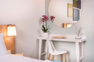 Ένα μπάνιο στο Irini Stalos Apartments
