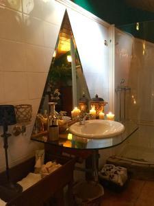 A bathroom at Bisalde