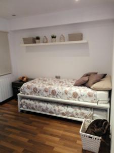 Letto o letti in una camera di Fira Barcelona El Prat Apartment