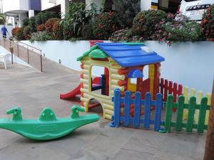 Children's play area at Flat Águas da Serra