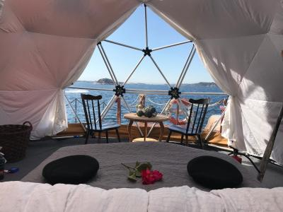 Luxury tent Artic Dome Fjords Bergen, Ramsøy, Norway