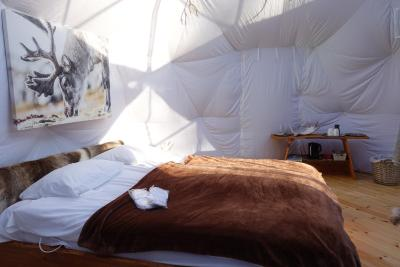 Luxury Tent Wild Caribou Dome, Lakselv, Norway