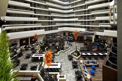 A bird's-eye view of Embassy Suites Los Angeles - International Airport/North