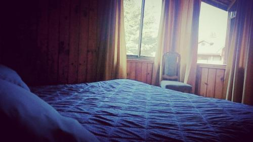 Cama o camas de una habitación en Complejo Turistico Coihuin