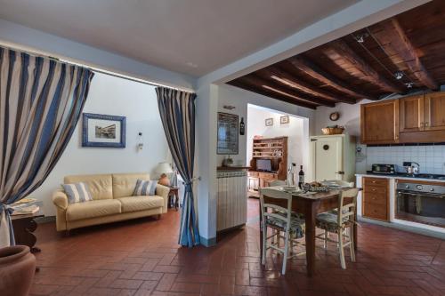 Area soggiorno di Uffizi Home and Florence