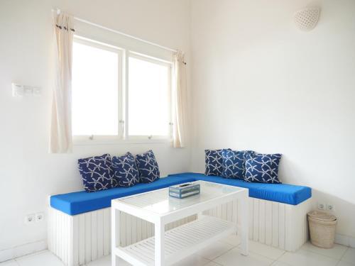 A seating area at Starfish Bali House