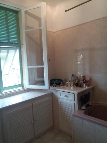 A kitchen or kitchenette at Villa Chamade
