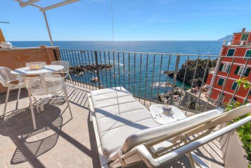 A balcony or terrace at The First - La Vista di Marina
