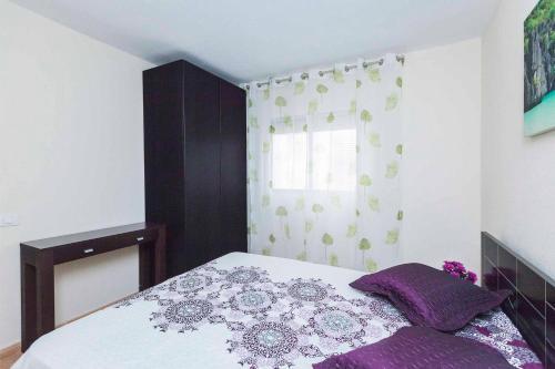 El Fraile tesisinde bir odada yatak veya yataklar