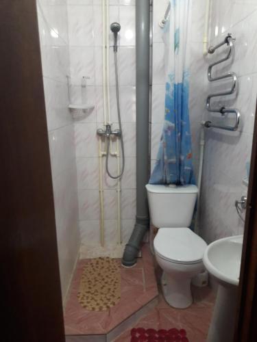 A bathroom at Guest house at Krymskaya