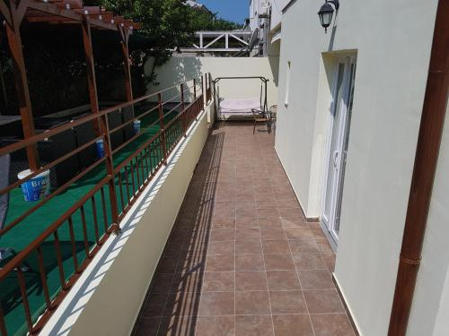 A balcony or terrace at Dejan Apartments with Pools
