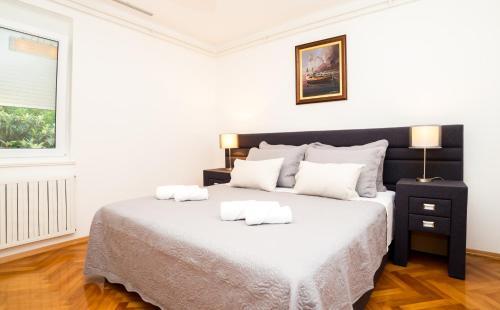 Ένα ή περισσότερα κρεβάτια σε δωμάτιο στο Casa Ana