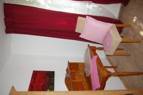 Ein Sitzbereich in der Unterkunft Kaiserhof Goldenbek